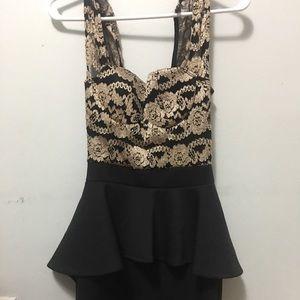 Upper lace dress